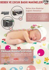 Bebek Baskı Makinesi Tanıtım