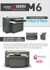 Dijital Baskı Makinesi M6 Tanıtım
